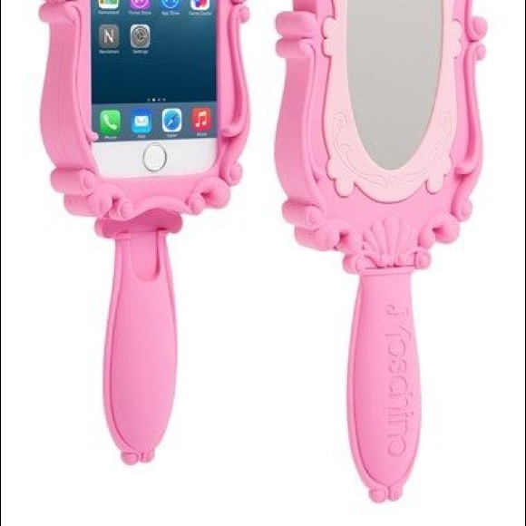 on sale a60f6 45d21 Moschino Barbie mirror phone case 6 s